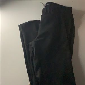 black jeggings/dress pants